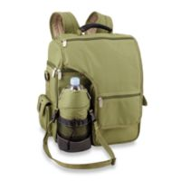 Picnic Time® Turismo Insulated Backpack Cooler in Olive