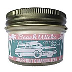 Beach Wicks Grapefruit and Mango Soy Jar Candle