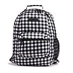 Ju-Ju-Be® Be Packed Gingham Backpack in Onyx