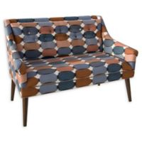 Skyline Furniture Delco Settee in Blue