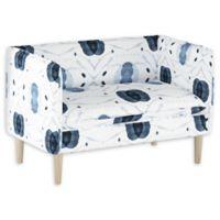 Skyline Furniture Nieman Settee in Blue