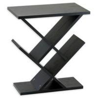 Adesso® Zig-Zag Accent Table in Black