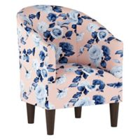Skyline Furniture Linen Upholstered Chair in Pink