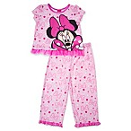 Disney® Size 12M 2-Piece Minnie Mouse Shirt and Pant Set in Pink