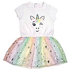 Mini Heroes Newborn Unicorn Tutu Dress