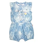 "Mini Heroes Newborn 2-Piece ""Mermaid Hair"" Romper and Headband Set"