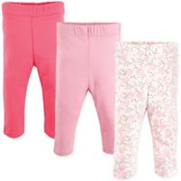 Luvable Friends® Size 18-24M 3-Pack Rose Leggings in Pink