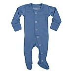 L'ovedbaby® Size 0-3M Organic Cotton Footed Overall in Slate