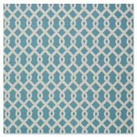 Nourison Sun & Shade Indoor/Outdoor 8'6 Square Area Rug in Blue