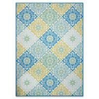Nourison Sweet Things 7'9 x 10'10 Indoor/Outdoor Area Rug in Blue
