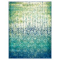 Loloi Rugs Madeline Cascade 3'9 x 5'2 Area Rug in Blue