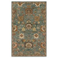 Loloi Rugs Underwood 9'3 x 13' Handcrafted Area Rug in Blue/Rust