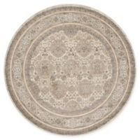 Loloi Rugs Century 7'7 Round Area Rug in Sand/Taupe