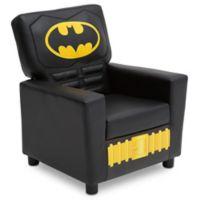 DC Comics® Batman High Back Faux Leather Upholstered Kids Chair
