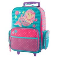 Stephen Joseph® Mermaid Classic Rolling Luggage in Pink/Blue