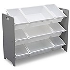 Delta Children MySize Bin Plastic Toy Organizer in Grey