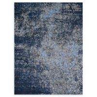 Loloi Rugs Viera 9'2 x 12'7 Power-Loomed Area Rug in Blue/Navy