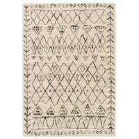 Loloi Rugs Emory 9'2 x 12'7 Power-Loomed Area Rug in Grey/Black