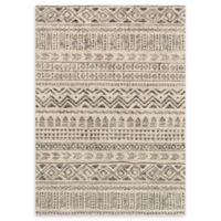 Loloi Rugs Emory 9'2 x 12'7 Power-Loomed Area Rug in Stone/Graphite