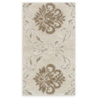 Loloi Rugs Enchant Medallion 2'3 x 3'9 Power-Loomed Accent Rug in Ivory/Beige