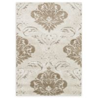 Loloi Rugs Enchant Medallion 3'10 x 5'7 Power-Loomed Accent Rug in Ivory/Beige