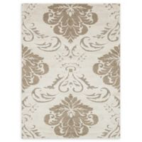 Loloi Rugs Enchant Medallion 5'3 x 7'7 Power-Loomed Accent Rug in Ivory/Beige