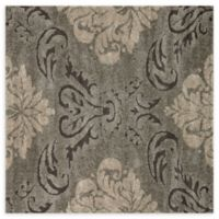 Loloi Rugs Enchant Medallion 7'7 Square Power-Loomed Accent Rug in Smoke/Beige