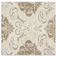 Loloi Rugs Enchant Medallion 7'7 Square Power-Loomed Accent Rug in Ivory/Beige