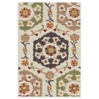 Loloi Rugs Francesca 2'3 x 3'9 Handcrafted Multicolor Accent Rug