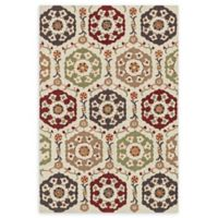 Loloi Rugs Francesca 3' Round Handcrafted Multicolor Accent Rug