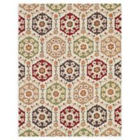 Loloi Rugs Francesca 7'6 x 9'6 Handcrafted Multicolor Accent Rug