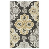 Loloi Rugs Francesca Medallion 2'3 x 3'9 Handcrafted Area Rug in Charcoal