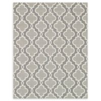 Loloi Rugs Francesca Quatrefoil 7'6 x 9'6 Area Rug in Grey