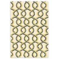 Loloi Rugs Venice Beach Abstract 5' x 7'6 Area Rug in Ivory