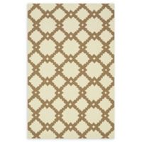 Loloi Rugs Venice Beach Arabesque 5' x 7'6 Area Rug in Ivory/Taupe