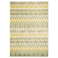 Loloi Rugs Madeline Multicolor Stripe 2' x 3' Accent Rug in Green