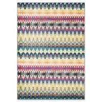 Loloi Rugs Madeline Multicolor Stripe 3'9 x 5'2 Area Rug