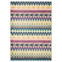 Loloi Rugs Madeline Multicolor Stripe 5'2 x 7'7 Area Rug