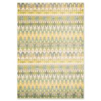 Loloi Rugs Madeline Multicolor Stripe 7'7 x 10'5 Area Rug in Green