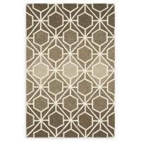 Loloi Rugs Venice Beach 9'3 x 13' Indoor/Outdoor Hand Hooked Area Rug in Brown/Beige