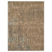Loloi Rugs Journey Honeycomb 9'2 x 12'2 Area Rug in Stone/Blue