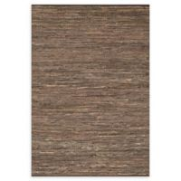 Loloi Rugs Edge Tactile 9'3 x 13' Area Rug in Brown