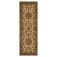 Loloi Rugs Victoria 7'6 Runner in Ivory/Dark Taupe