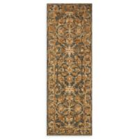 Loloi Rugs Victoria 2'6 x 7'6 Handcrafted Runner in Slate