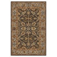 Loloi Rugs Victoria 5' x 7'6 Handcrafted Area Rug in Dark Taupe/Grey