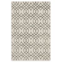 Loloi Rugs Panache Geometric 9'3 x 13' Handcrafted Area Rug in Ivory/Grey