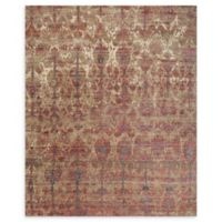 Loloi Rugs Javari 5'3 x 7'4 Area Rug in Drizzle/Berry