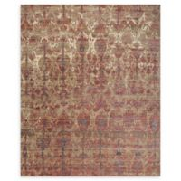 Loloi Rugs Javari 7'10 x 10' Area Rug in Drizzle/Berry