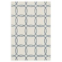 Loloi Rugs Panache 2'3 x 3'9 Handcrafted Accent Rug in Ivory/Blue