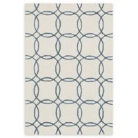 Loloi Rugs Panache 3'6 x 5'6 Handcrafted Area Rug in Ivory/Blue
